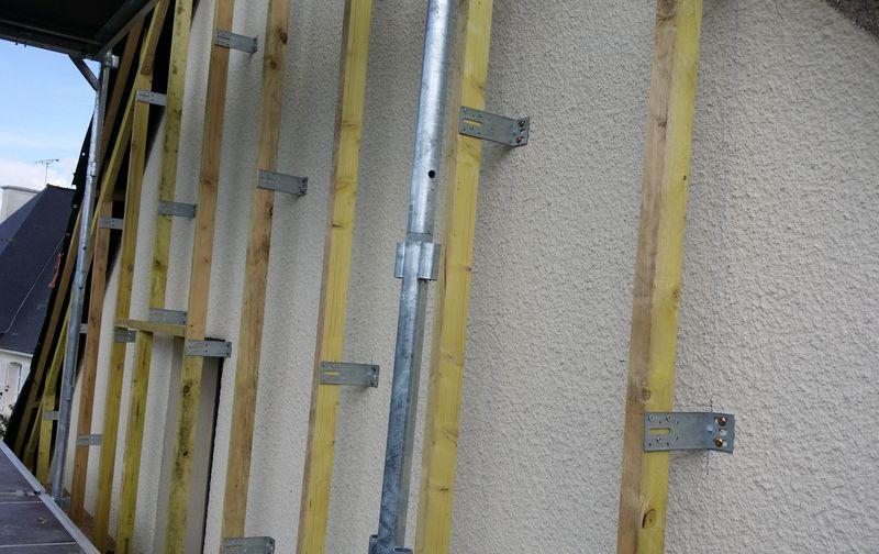 Isolation thermique par l 39 ext rieur rennes ite laine verre roche bois cha - Isolation polystyrene ou laine de verre ...